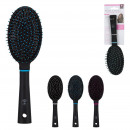 brosse a cheveux ronde, 3-fois assorti