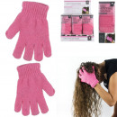 wholesale Gloves: magic glove hair, 1- times assorted
