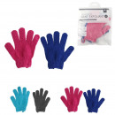 wholesale Fashion & Apparel: exfoliating glove x2, 2- times assorted