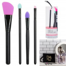 Silicone makeup brush x4, 1- times assorted
