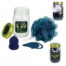 mason jar beauty special cleaning blue, 1-time as