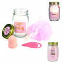 mason jar beauty special cleaning pink, 1-time as