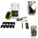 mason jar beaute special black manicure, 1-time as