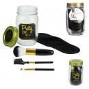 mason jar beauty special makeup black, 1-time a