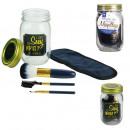 mason jar beauty special makeup blue, 1-time a