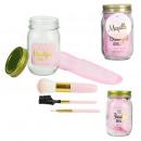 mason jar beauty special pink makeup, 1-time a