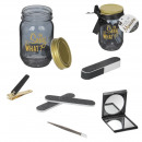 mason jar beaute 6p black