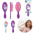 child hair brush, 2- times assorted