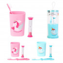 children's toothbrush set, 2- times assorted