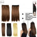 extensión de cabello 50cm, 3- veces surtido