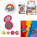 Großhandel Spielwaren: Regenbogenspiegel, 4- fach sortiert