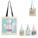 tote bag sweet summer, 3- times assorted