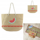 tote bag watermelon, 1- times assorted