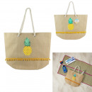 pineapple tote bag, 1- times assorted