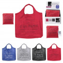 collapsible shopping bag dealer 42x52cm, 4-fold as