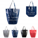 shopping bag dealeuse 44x45x22cm, 4- times assorte