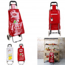 2-wheeled fruit cart, 2- times assorted