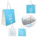 shopping bag freshness 47x20x50cm, 2- times assort