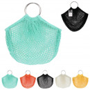 food net with metal handle, 5-fold asso