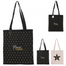 mom tote bag, 2- times assorted