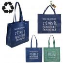 Großhandel Taschen & Reiseartikel: recycelte Einkaufstasche 50x22x42cm, 2- ...