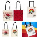 Regenbogen-Einkaufstasche, 2- fach sortiert