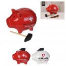 mayorista Artículos de regalo: hucha de cerdo con martillo, 2- veces surtido