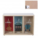 wholesale Gifts & Stationery: wooden money box with 3 compartments
