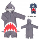shark kids swim suit