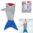 shark plaid 56x132cm