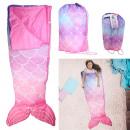 sleeping bag mermaid child 140x60