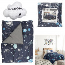 astro printed quilt 140x200cm and Pillow