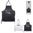 family adult apron, 2- times assorted
