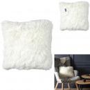 Pillow beige long hairs 40x40cm