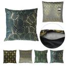 Pillow velvet prints gold 40x40cm, 4-time assor