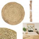 wholesale Carpets & Flooring: round carpet jute 120cm, 1- times assorted