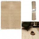 tapis jute avec franges 120x170cm