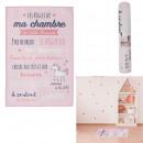 ingrosso Articoli da Regalo & Cartoleria: Tappeti rosa per camera da letto 60x90cm
