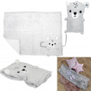 wholesale Car accessories: children's blanket teddy bear 75x100cm