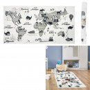 wholesale Carpets & Flooring:140x70cm world map rug