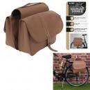 wholesale Sports & Leisure: universal double saddlebag bicycle imitation leath