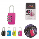 wholesale Toolboxes & Sets: Padlock metal, 4-fold assorted