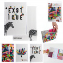 Protects exotic travel documents, 3- times assorte