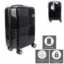 suitcase cabin black berlin 35l