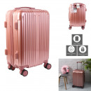 valise cabine paris rose 40l