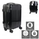 suitcase cabin london black 40l