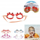wholesale Toys: animal swimming goggles, 4- times assorted
