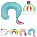 Pillow animal nape, 4- times assorted