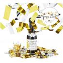 grossiste Articles de fête: Party Popper Confetti Canon Champagnefle