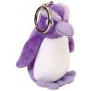 Wild Republik Keychain Plush Penguin Purple 9
